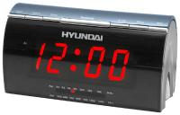 Радиочасы Hyundai H-1514  (Gray) - вид спереди