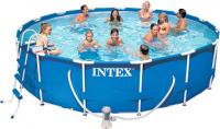 Каркасный бассейн Intex Metal Frame 457х107 (56949) - Общий вид