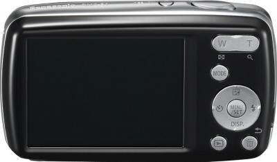 Компактный фотоаппарат Panasonic Lumix DMC-S1EE-K - вид сзади