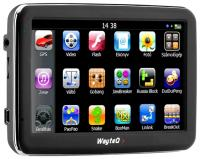 GPS навигатор Wayteq x960BT-HD TMC - вид спереди