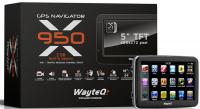 GPS навигатор Wayteq x950 - общий вид
