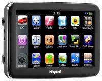GPS навигатор Wayteq x950 - вид спереди