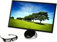 Монитор Samsung SyncMaster S23A750D (LS23A750DS/CI) - общий вид с очками (модель очков может быть другой)