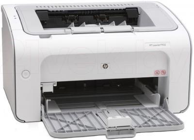 Принтер HP LaserJet Pro P1102 (CE651A) - общий вид