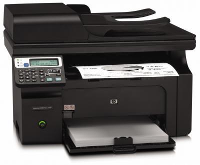 Мфу HP LaserJet Pro M1217nfw - вид спереди