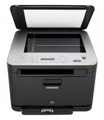 МФУ Samsung CLX-3185 - вид спереди