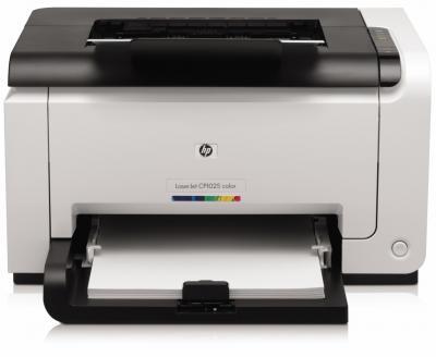 Принтер HP LaserJet Pro CP1025nw (CE914A) - общий вид