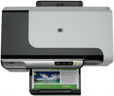 Принтер HP Officejet Pro 8000 Wireless (CB047A) - вид сверху