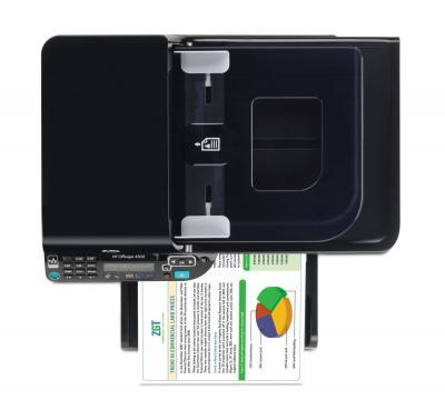 Мфу HP Officejet 4500 All-in-One - вид сверху