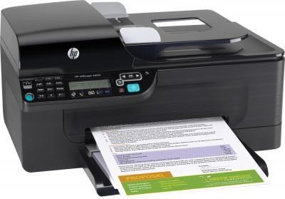 Мфу HP Officejet 4500 All-in-One - вид сбоку