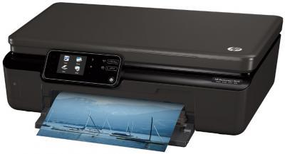Мфу HP Photosmart 5515 - вид сбоку