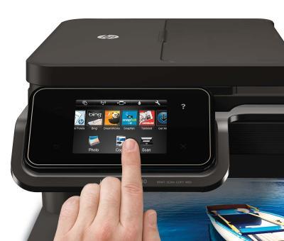 МФУ HP Photosmart 7510 - панель управления