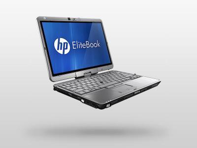 Ноутбук HP EliteBook 2760p (LG680EA) - сбоку