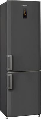 Холодильник с морозильником Beko CN335220B - Вид спереди