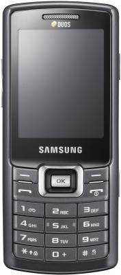 Мобильный телефон Samsung C5212 Black - вид сзади