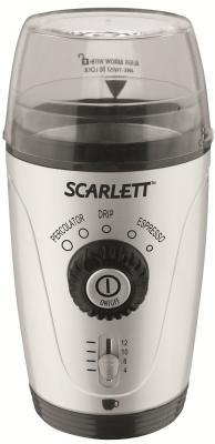 Кофемолка Scarlett SC-4010 (серебристый) - Вид спереди
