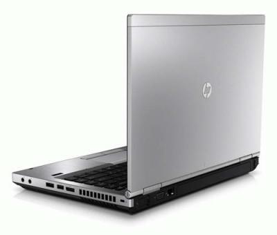 Ноутбук HP EliteBook 8460p (LG742EA) - открытый сзади сбоку