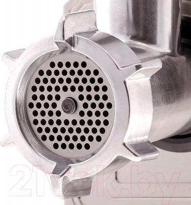 Мясорубка электрическая Holt HT-MG-002 (+ насадка-соковыжималка) - мясорубка