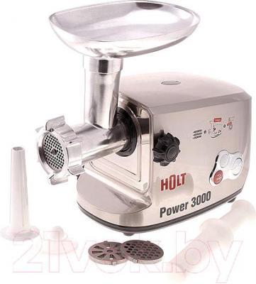 Мясорубка электрическая Holt HT-MG-002 (+ насадка-соковыжималка) - общий вид