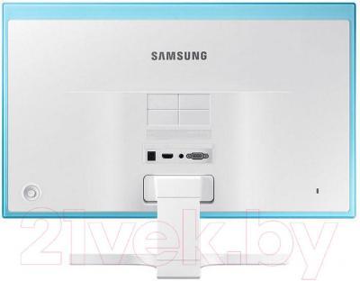 Монитор Samsung S27E391H (LS27E391HSX/CI) - вид сзади