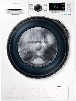 Стиральная машина Samsung WW90J6410CW/LP - общий вид