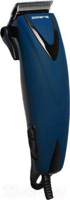 Машинка для стрижки волос Polaris PHC 0714 (синий)