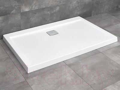 Душевой поддон Radaway Argos D 900x1000 (белый)