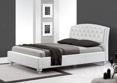 Двуспальная кровать Halmar Sofia (белый)