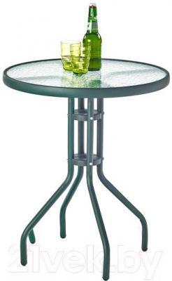 Стол садовый Halmar Grand 60 (темно-зеленый)