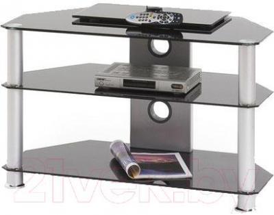 Стойка для ТВ/аппаратуры Halmar RTV-4 (черный) - общий вид