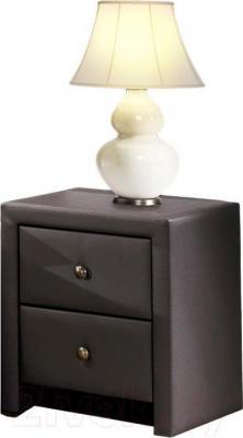 Прикроватная тумба Halmar Prima (черный)
