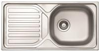Мойка кухонная Ukinox CMM 860.435 GT 6K (левая) -