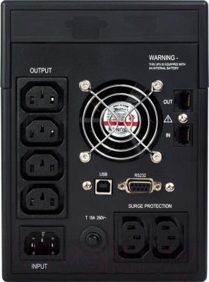 ИБП Ippon Smart Power Pro 2000 - вид сзади