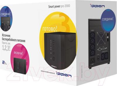 ИБП Ippon Smart Power Pro 2000 - упаковка