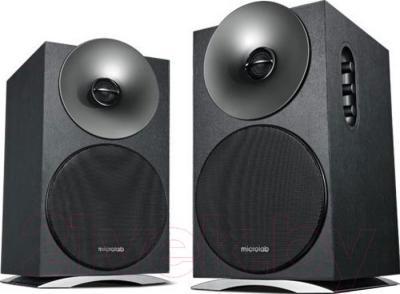 Мультимедиа акустика Microlab H50BT (черный) - общий вид