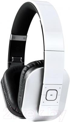 Наушники-гарнитура Microlab T1 (черно-белый) - общий вид