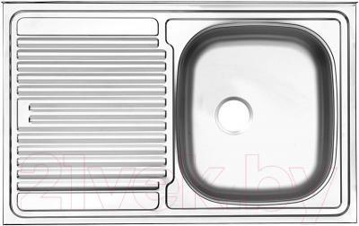 Мойка кухонная Ukinox STM 800.500 T 6K (левая) - общий вид