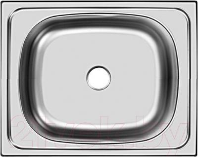 Мойка кухонная Ukinox STM 500.400 T 6K (правая) - общий вид