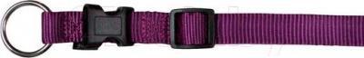 Ошейник Trixie Premium Collar 20168 (M-L, ягодный) - общий вид