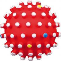 Игрушка для животных Trixie 3429 (с цветными шипами, со звуком) -