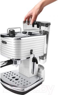Кофеварка эспрессо DeLonghi Scultura ECZ 351.W - общий вид