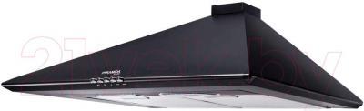 Вытяжка купольная Pyramida Basic Casa 50K (черный) - общий вид