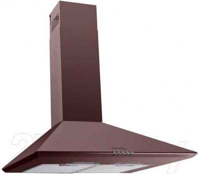 Вытяжка купольная Pyramida Basic Casa 50K (коричневый) - общий вид