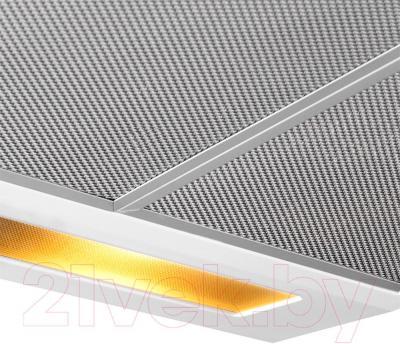 Вытяжка плоская Pyramida Basic Uno 50 (белый) - жировой фильтр