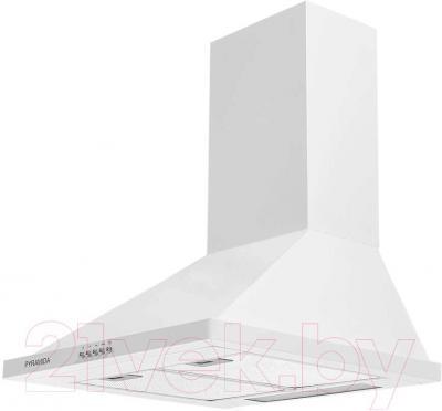 Вытяжка купольная Pyramida KH 50 (1000, белый) - общий вид