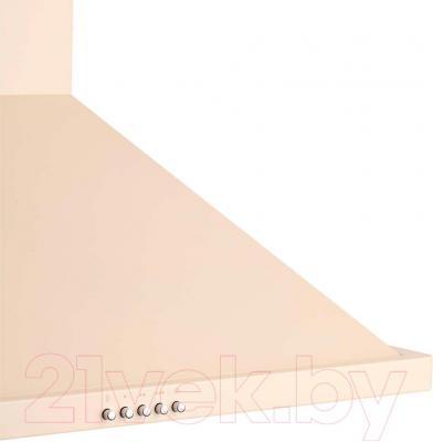 Вытяжка купольная Pyramida KH 60 (1000, слоновая кость) - фронт вытяжки