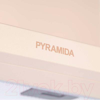 Вытяжка купольная Pyramida KS 60U (слоновая кость) - детальное изображение