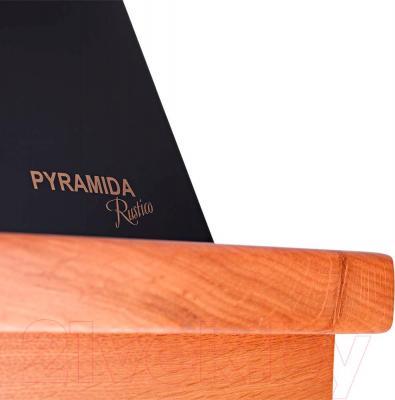 Вытяжка купольная Pyramida R 60 Black Cherry/U - детальное изображение