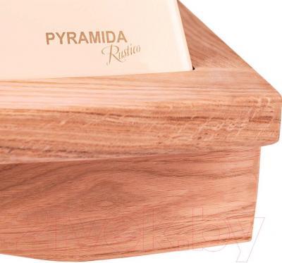 Вытяжка купольная Pyramida R 60U (слоновая кость) - детальное изображение