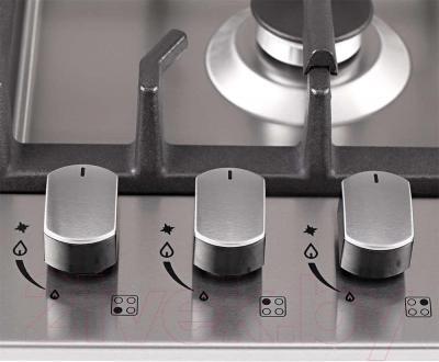Газовая варочная панель Pyramida PFX 643 Luxe (нержавеющая сталь) - управление